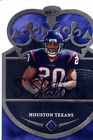 steve slaton rookie rc draft auto autograph texans west virginia wvu die cut  08