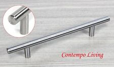 "Solid Stainless Steel 8"" Kitchen Cabinet Hardware Bar Pull Handle"