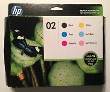 HP 02 Black & Color Combo-packs  CH611FN  NEW Sealed Dated Mar 2015