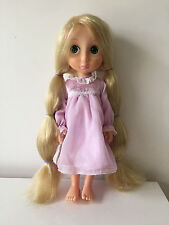 Disney Rapunzel EDIZIONE Animator Bambola First carta stagnola/GLITTER PER CAPELLI/night dress