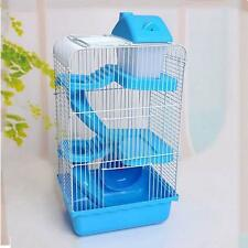 Pet Supplies Hamster Mouse House 3 Tiers Layers Pet Mice Rat Cage Castle Habitat