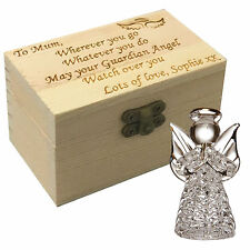 Guardian Worry Angel Personalised Box First Holy Communion Christening Poem Gift