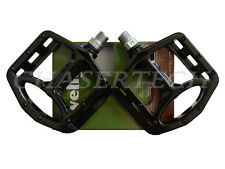 "New Wellgo MG-1 BMX Bicycle Bike Magnesium Pedals 9/16"" Black"