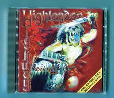 Highlander  cd  HIGHWAY WARRIOR  © 1996 face records HARD ROCK enhanced cd bonus