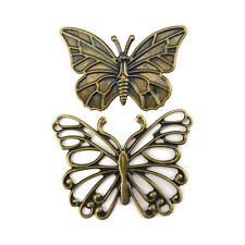 Buddly Crafts Metal Butterflies Large - 10pcs Antique Bronze AB12
