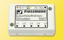 Viessmann 5067 Leuchtstoffröhren-Simulator, H0