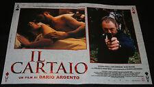 Fotobusta-Il Cartaio di Dario Argento, con Fiore Argento, Liam Cunningham