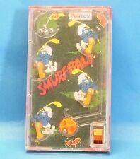 "Schlumpf "" Flipper "" - Spiel smurf ball PALITOY 1978 TOMY 12 cm"