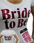 Hen Night Party Bride to Be Accessory Hot Pink Easy Iron on Transfer