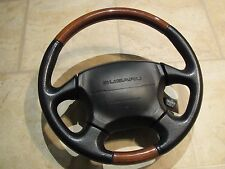 Subaru Legacy Outback Woodgrain Leather Steering Wheel LL Bean Wood MOMO 99-04