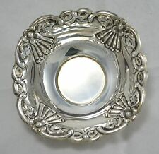 N°9464   CIOTOLINA CENTROTAVOLA SVUOTATASCHE IN ARGENTO SHEFFIELD COLLECTION