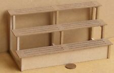 1:12 Scale Flat Pack MDF Shop Display Shelves Dolls House Miniature Garden Large