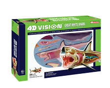 4D Vision Great White Shark Anatomy Model (20 Pieces for Ages 8 and Up)