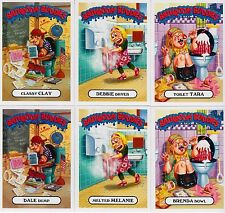 2016 GARBAGE PAIL KIDS AMERICAN AS APPLE PIE BATHROOM BUDDIES COMPLETE SET 6/6