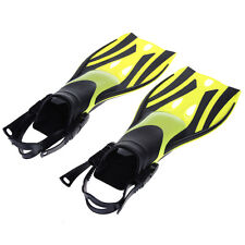 Kids Junior Dive Snorkeling Swimming Scuba Fins Flippers Shoes Open Heel Child