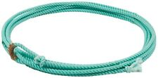 New Turquoise 20 ft jr kids youth rodeo team roping rope western lasso lariat
