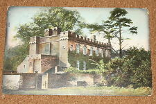 Vintage Postcard: Somersby Manor, Lincolnshire, 1906