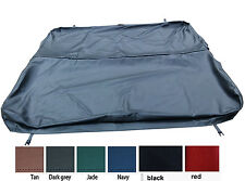 spa cover outside leather  only replacement  hot tub cover skin customize size