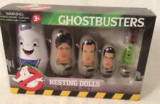 GHOSTBUSTERS NESTING DOLLS 6 PIECE SET SLIMER WINSTON EGON PETER RAY STAY PUFT