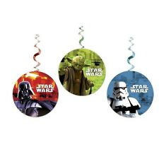 STAR WARS 7 THE FORCE AWAKENS PARTY DECORAZIONE FESTONE 3 PCS PALLE FESTA DISNEY