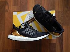 ADIDAS ULTRA BOOST noir or olympique pack MEDAL UK6 US6.5 brand new primeknit