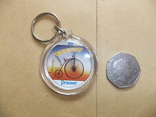 PATRICK McGOOHAN THE PRISONER NO 6 PENNY FARTHING KEY RING ITC PORTMERION