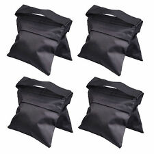 4x Photo Studio Balance Sandbags Weight Sand Bag For Light Stand Boom Arm Kit