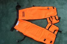 """Oregon 564134-32 safety chainsaw chaps protective leggings 32"""" Wrap length Short"""