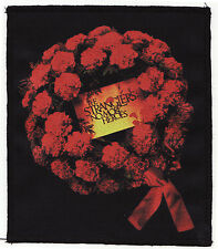 THE STRANGLERS PATCH NO MORE HEROES WREATH ROSE ENGLISH PUNK ROCK 1977  A6+