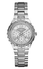 Guess Ladies Watch U0111L1 - Guess Silver Stainless Steel Ladies Watch