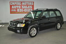 Subaru: Forester S Wagon 4-Door