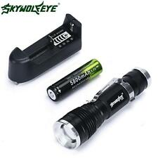 New 5000 Lumen 3 Modes CREE Q5 LED Flashlight Mini 18650 Rechargable Torch Light