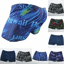 NEW Men's Summer Beach Swimming Swim Trunks Shorts Pants Swimwear Boxer Briefs