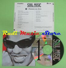 CD SOUL MUSIC 1 PIONIERI SOUL compilation PROMO 96 RAY CHARLES SAM COOKE (C17**)
