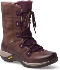 Dansko Womens Camryn Brown Nubuck Waterproof Arch Support Boot EU 41 US 10.5