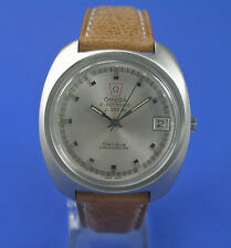 Omega HAU Electronic f300 Hz Chronometer Stimmgabel Stahl watch