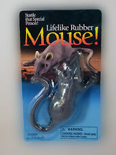 Fake Rubber Mouse - Gag Gift - Cat Toy - Dog Toy- FUNNY