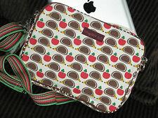 Bungalow 360 Hedgehog Tablet Sleeve Protective Übër Cute Natural Canvas Case!