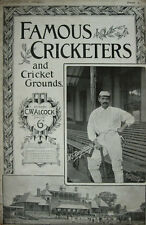 Famous Cricketers and Cricket Grounds Part X 1895 Magazine edited by CW Alcock