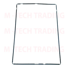 NEW FOR IPAD 2/3 4 BLACK COLOUR OUTER LCD TOUCH SCREEN TRIM + ADHESIVE STICKER