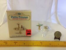 1/16 SCALE SALON COFFEE TABLE SET 4433-9 100 IDEAL PETITE PRINCESS NOS-SEE NOTE