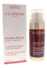 Clarins Double Serum Complete Age Control Concentrate 1oz tester New In Box