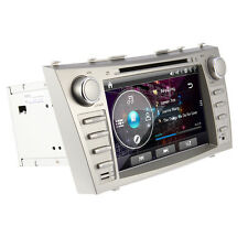 "Car DVD Radio GPS Navigation 8"" Player for Toyota Camry 2007-2011 Bluetooth FM"