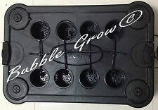 Bubble Grow PRO 8 Drip Hydroponic System Top Feed Bubbleponic DWC Growing Kit