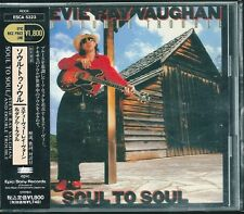 Stevie ray Vaughan and Double Trouble Soul To Soul Japan CD w/obi ESCA-5323