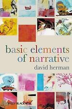 Basic Elements of Narrative by David Herman (2009, Paperback)