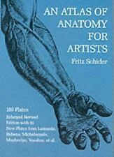 Dover Anatomy for Artists: An Atlas of Anatomy for Artists by Fritz Schider...