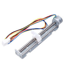 DC 4V-9V 2 Phases 4 Wires 18 Degrees Drive Stepper Motor Screw with Nut Slider