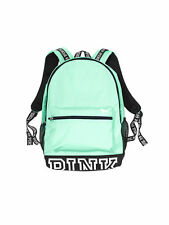NEW Victorias Secret PINK CAMPUS BACKPACK seafoam glow green - 2016