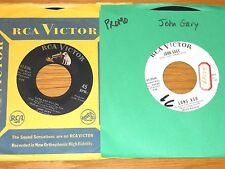 """LOT of 2 POP 45 RPMs - JOHN GARY - RCA 47-8386 and 47-8544 - """"FRIEND AND LOVER"""""""